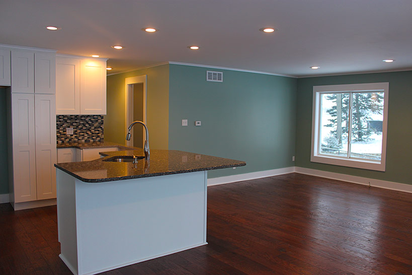 Complete interior remodel corey lake hevcon for Compleet interieur